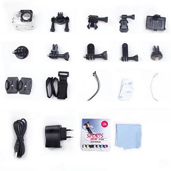 Pack Caméra Moto HD